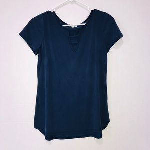 Maurices Dark Blue Top Size Small